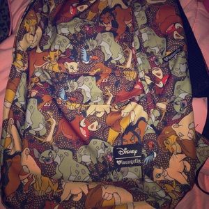 The lion king loungefly Disney backpack